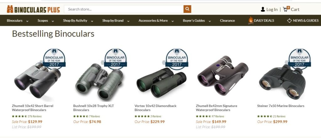 Where to buy binoculars in the us