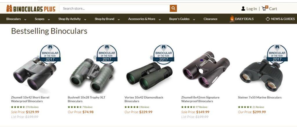 Where to buy binoculars in the us