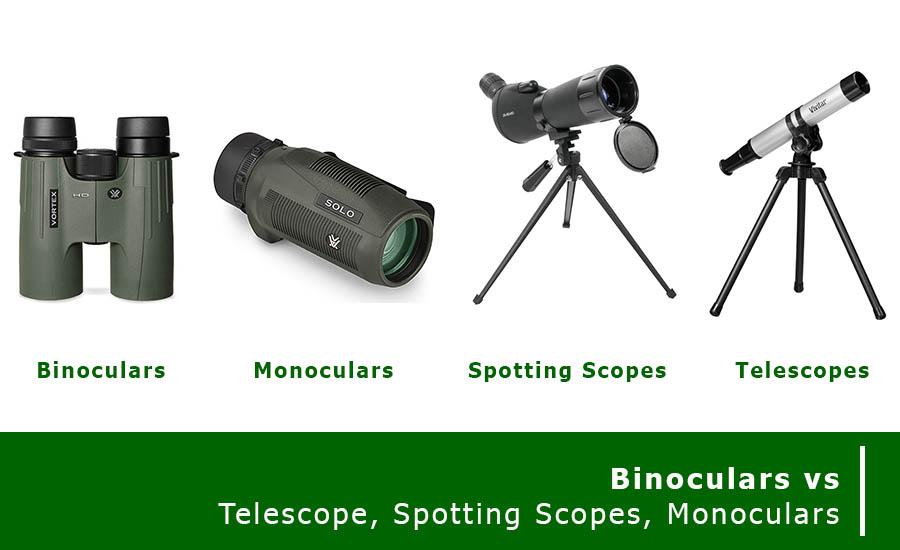 Binoculars vs telescope