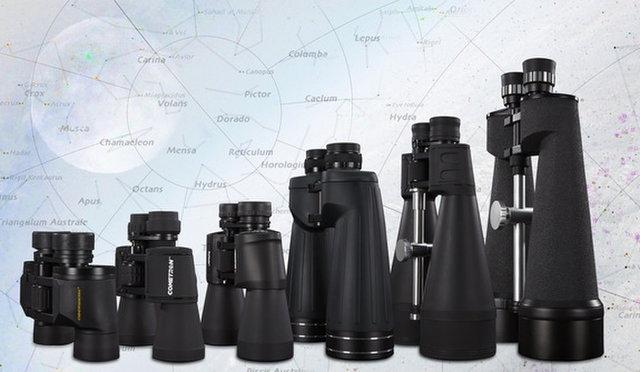 size of binoculars