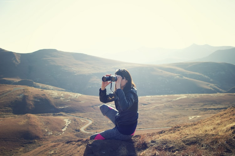 An 8x42 binocular is very handy for any traveler