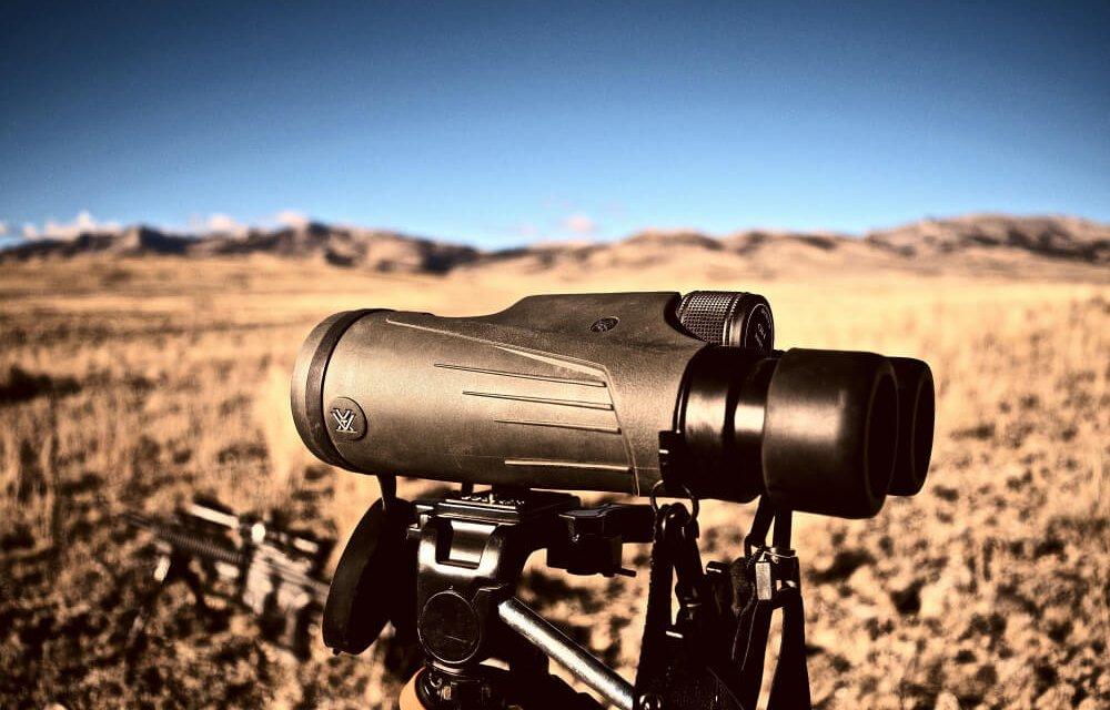 Binoculars are very essential in a hunting trip
