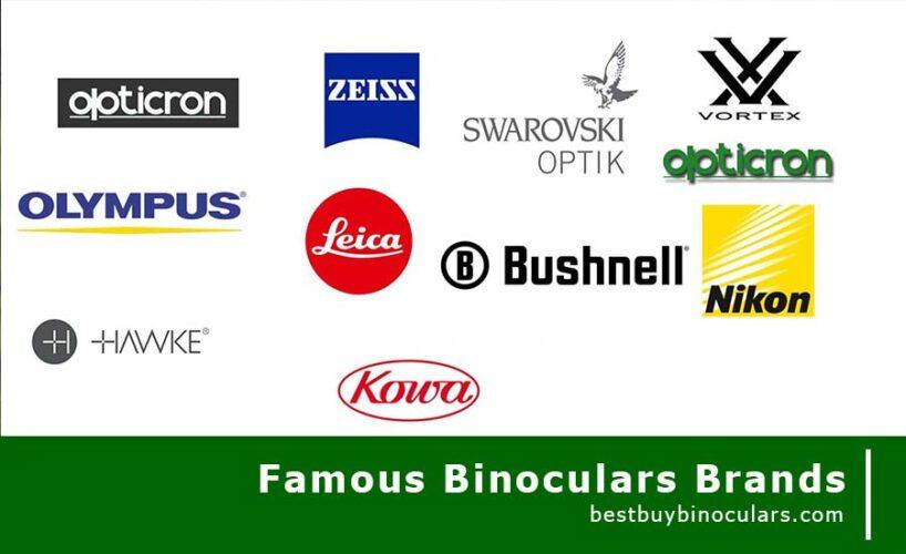 famous binoculars brands