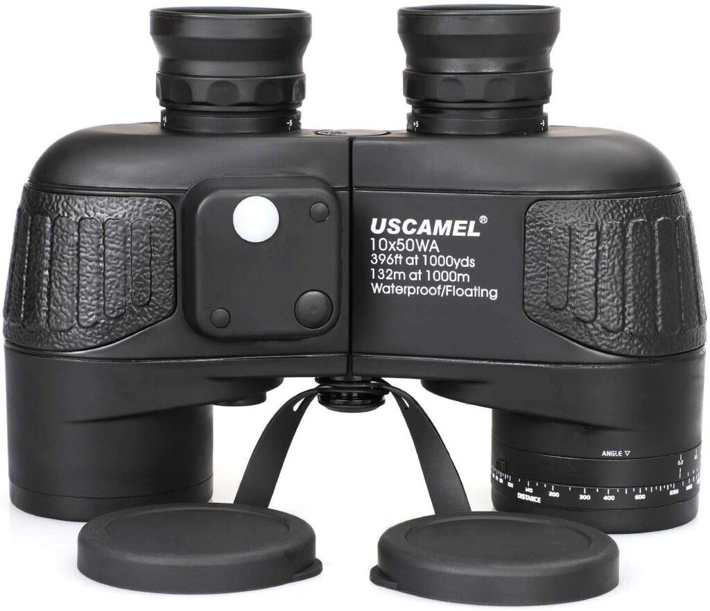USCAMEL 10x50 Marine Binoculars - model UW004-black