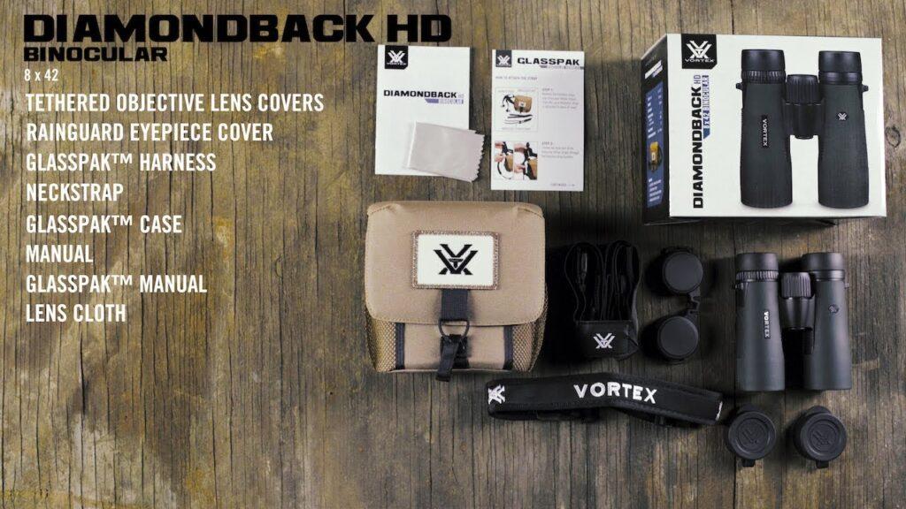 Vortex Optics Diamondback 8x42 package
