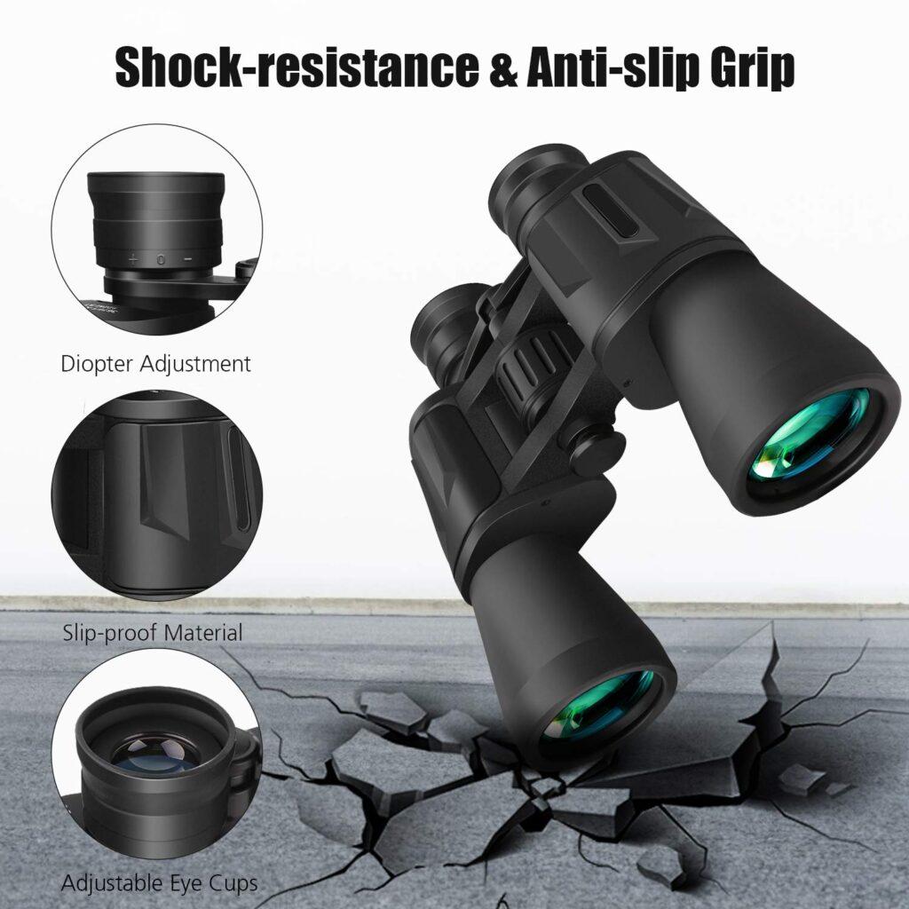 Mieuxbuck Binoculars with BAK4 Prism FMC Lens