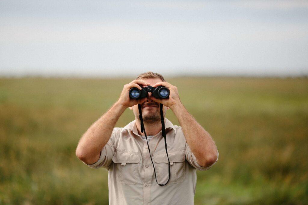 Bird watching with Nikon Prostaff 5