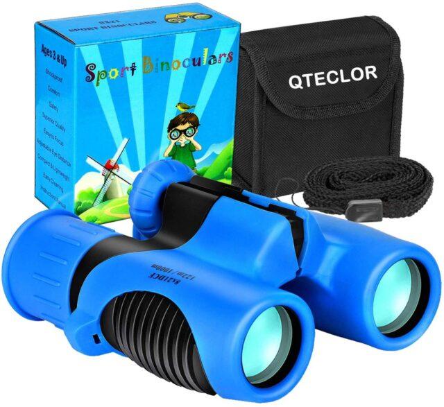 QTECLOR Kids Binoculars B0832BJKB5 Best For Sporting Events bestbuybinoculars