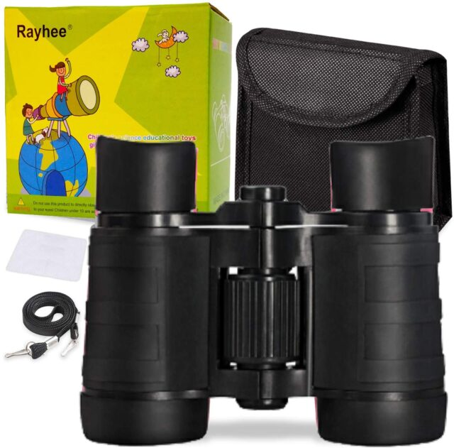 Rayhee Kids Binoculars B072JPS49F-Best For Budget bestbuybinoculars